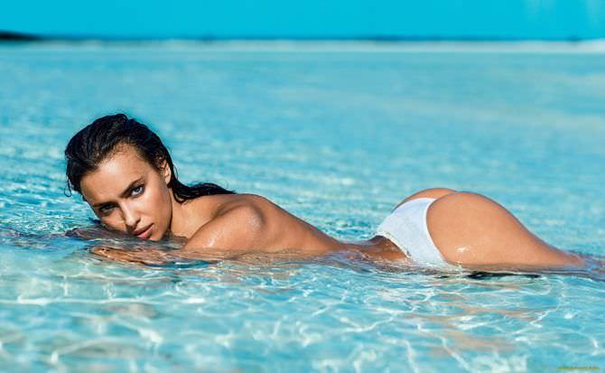 Ирина Шейк фото на пляже в максим