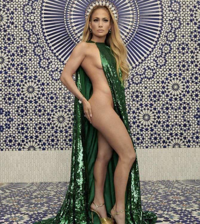 Дженнифер Лопес скандальная фотосессия в журнале