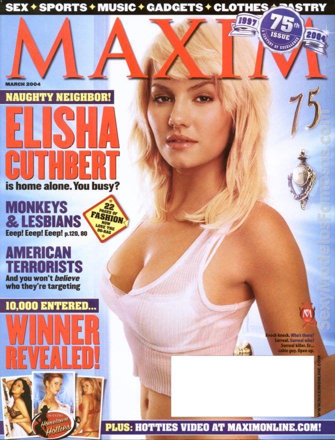 Элиша Катберт фото обложки 2004