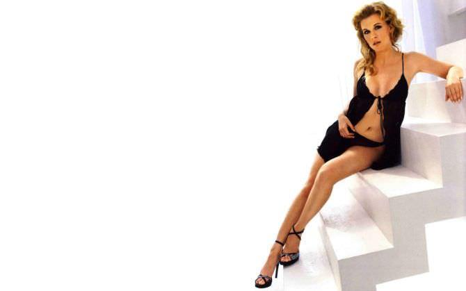 Ева Хаберманн фото в чёрном нижнем белье