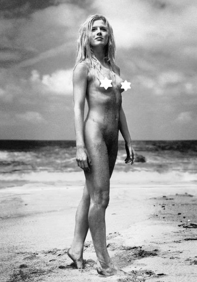 Ева Хаберманн фотография без одежды на пляже