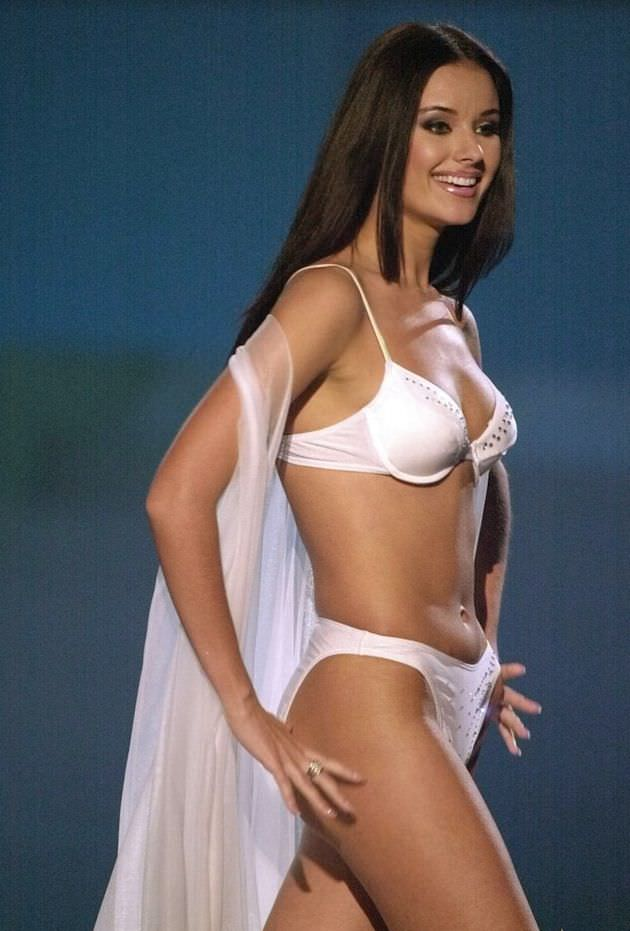 Оксана Фёдорова фотография с конкурса красоты