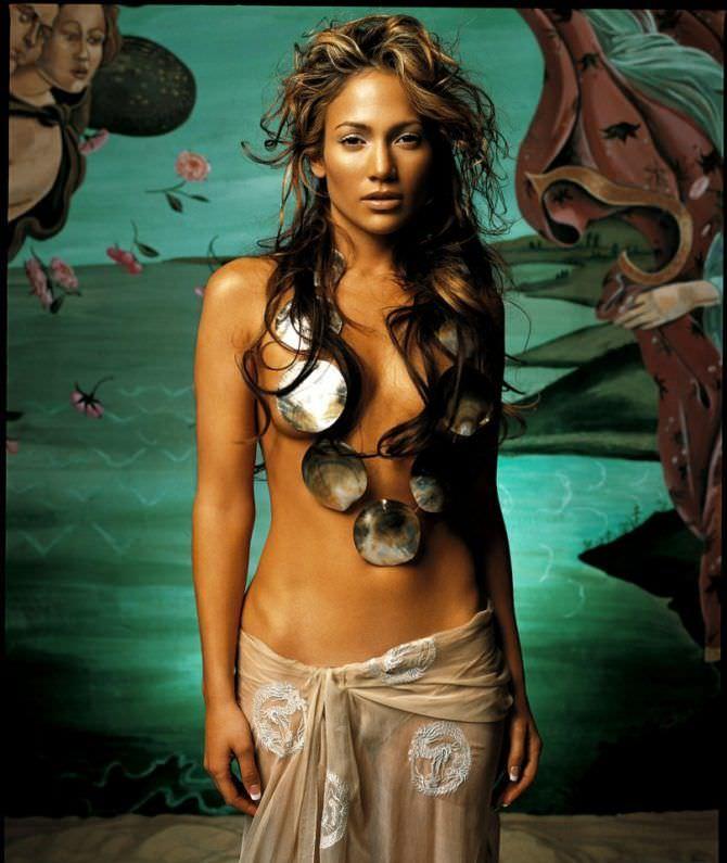 Дженнифер Лопес фото в образе Афродиты