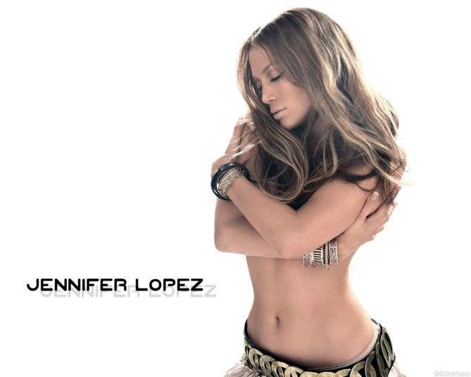 Дженнифер Лопес красивое фото в бикини