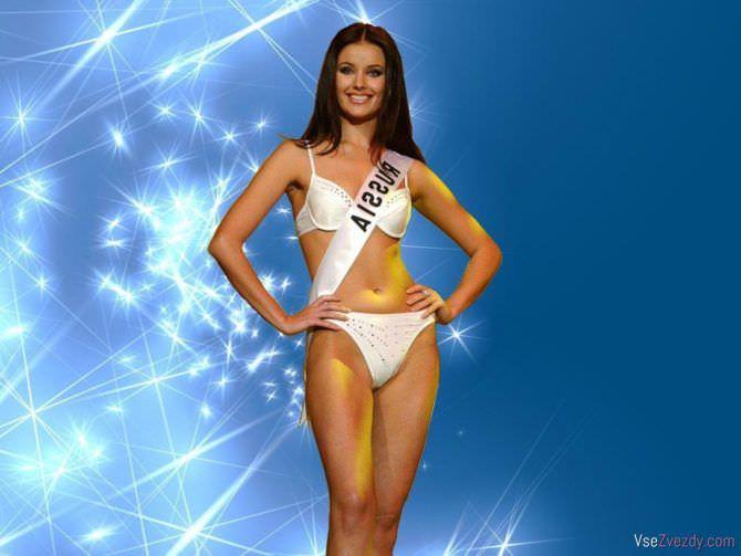 Оксана Фёдорова фото в бикини на конкурсе