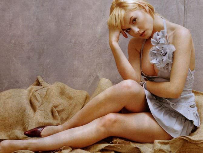 Элиша Катберт фото в вечернем платье