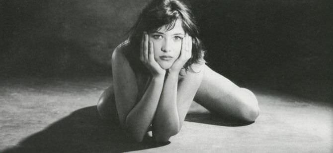 Софи Марсо откровенная фотосессия в молодости