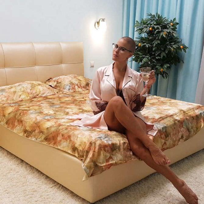 Марина Вовченко фотография в халатике
