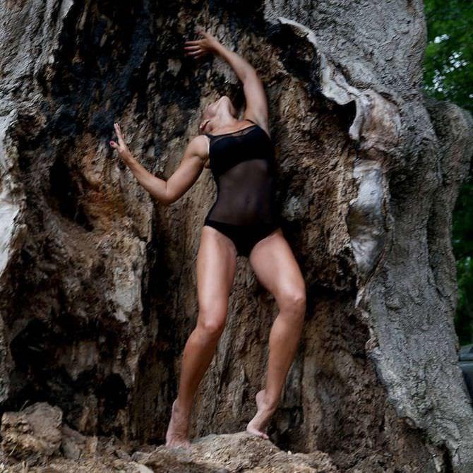 Марина Вовченко фотография в скале