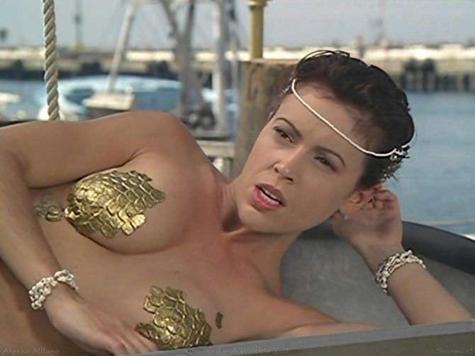 Алисса Милано кадр из сериала