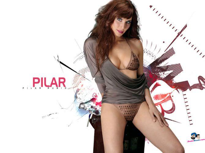 Пилар Рубио фотосессия для журнала 2008