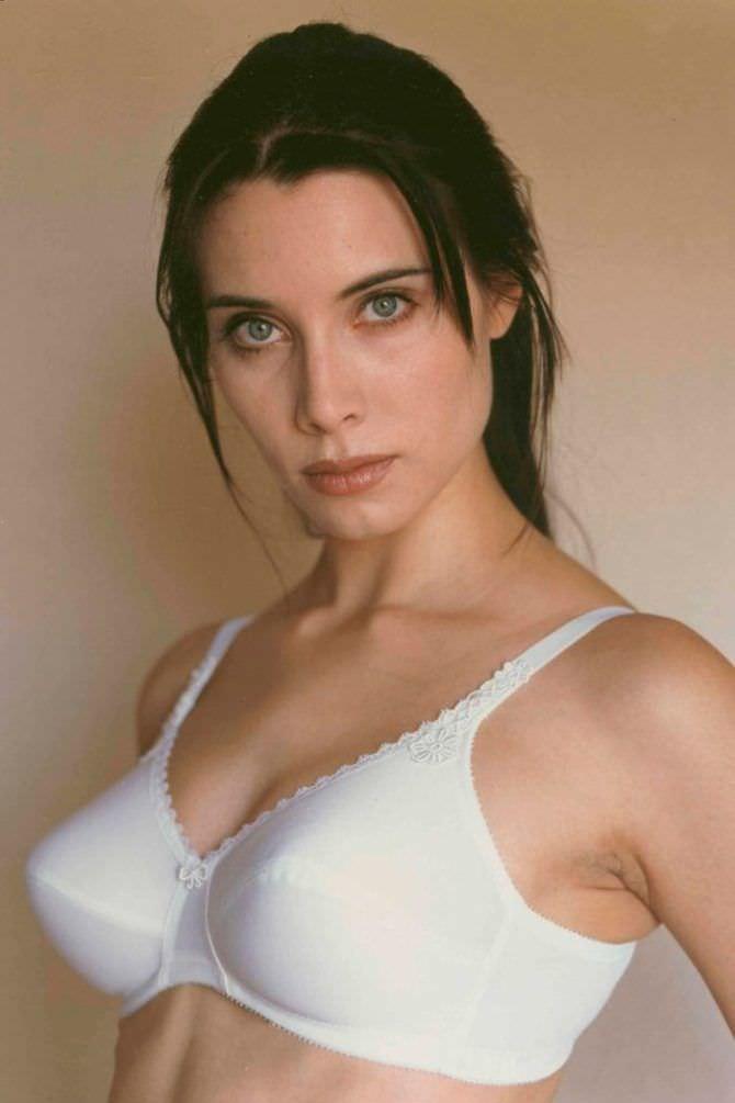 Пилар Рубио фото в белом белье