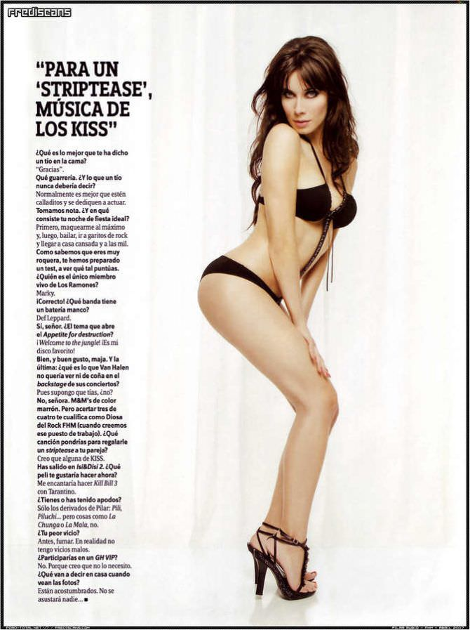 Пилар Рубио фотография в бикини в журнале