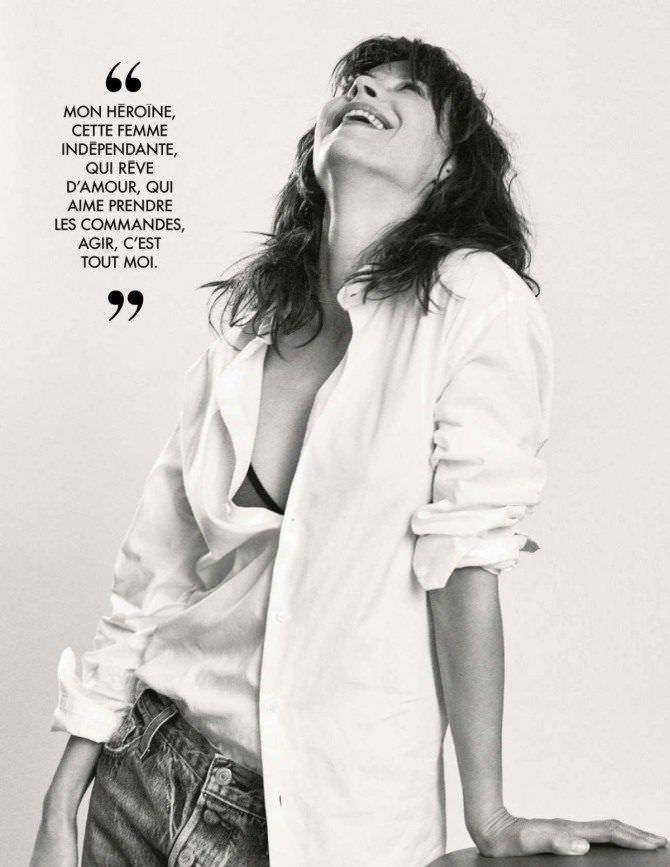 Софи Марсо фотография в журнале