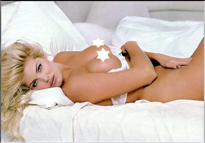 Виктория Сильвстедт фотов белье в постели