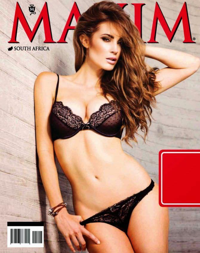 Танит Феникс фото обложки журнала максим