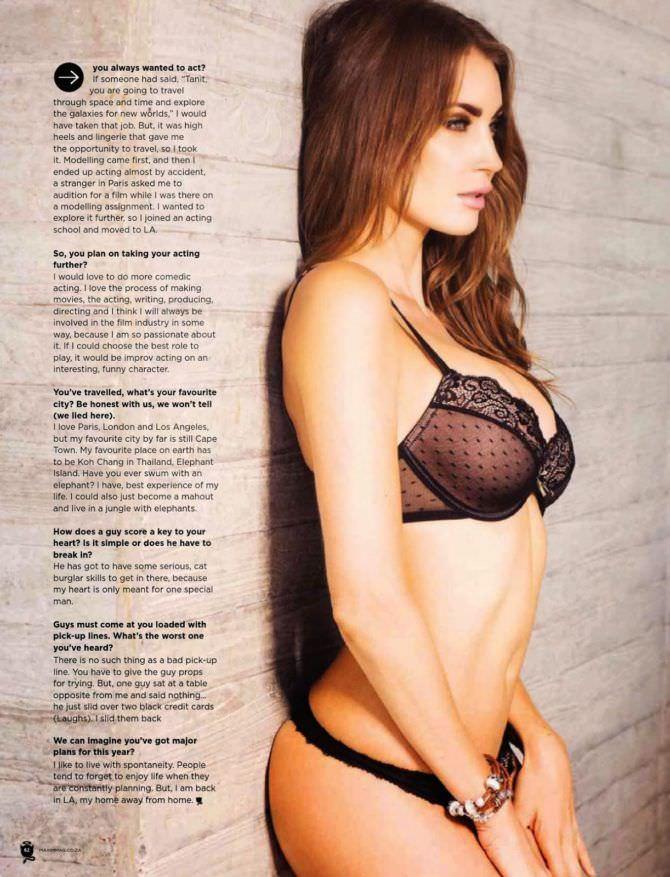 Танит Феникс фото в нижнем белье в журнале