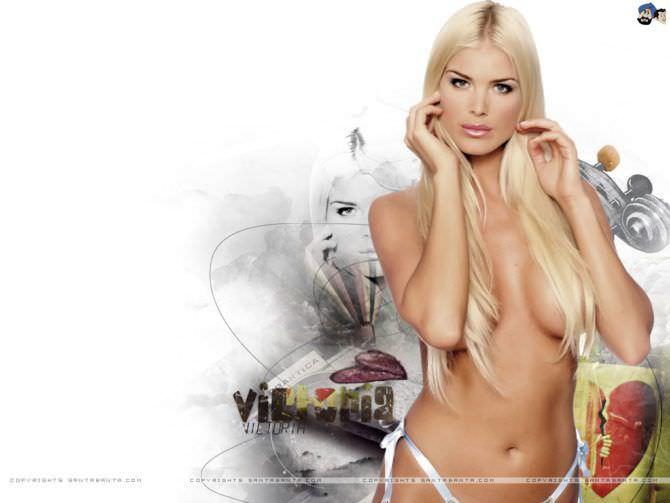 Виктория Сильвстедт фото с прямыми волосами