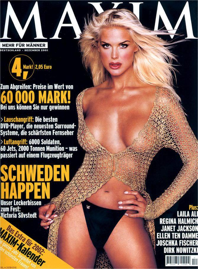 Виктория Сильвстедт фотография журнала максим 2001