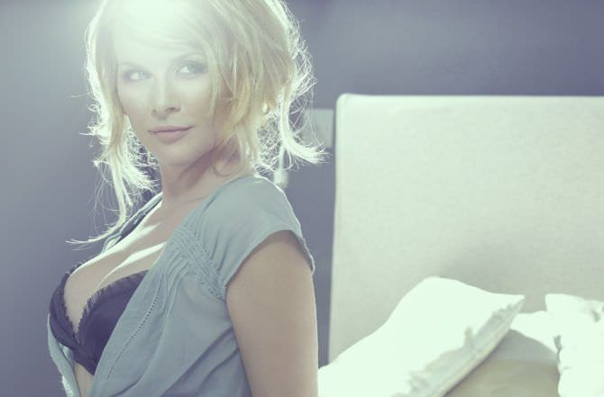 Ева Хаберманн красивое фото в белье