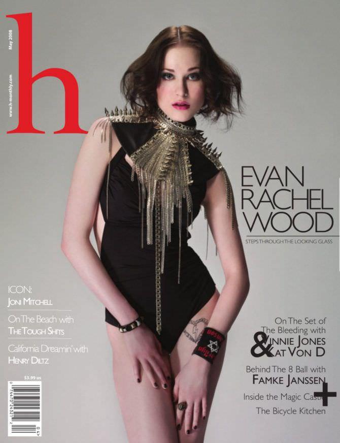 Эван Рэйчел Вуд фото с тёмными волосами