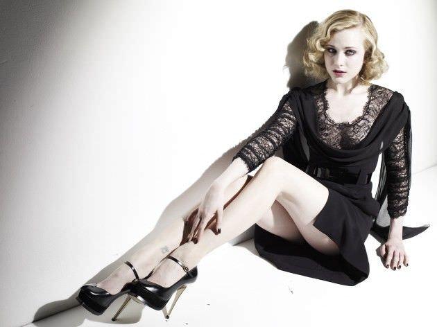 Эван Рэйчел Вуд фотов кружевном платье