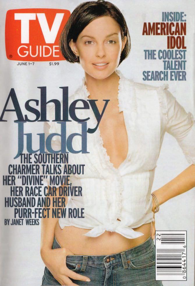 Эшли Джадд на обложке журнала
