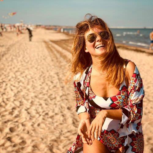 Жанна Бадоева фото на отдыхе