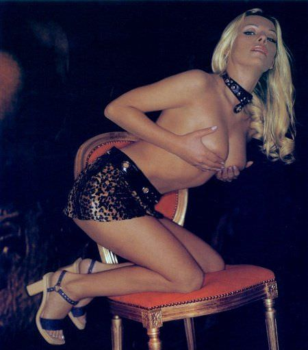 Ирина Салтыкова фото для мужского журнала Playboy