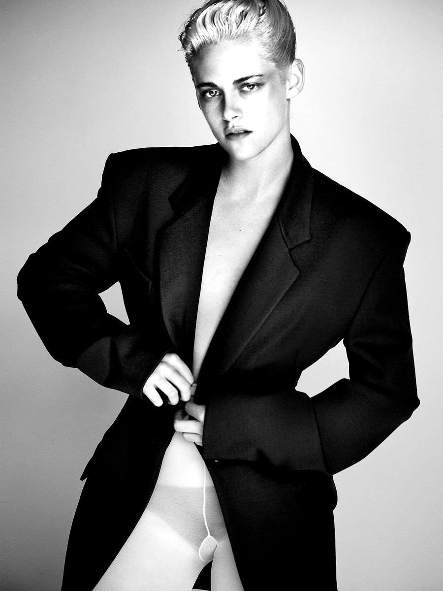 Кристен Стюарт фото в белых колготах