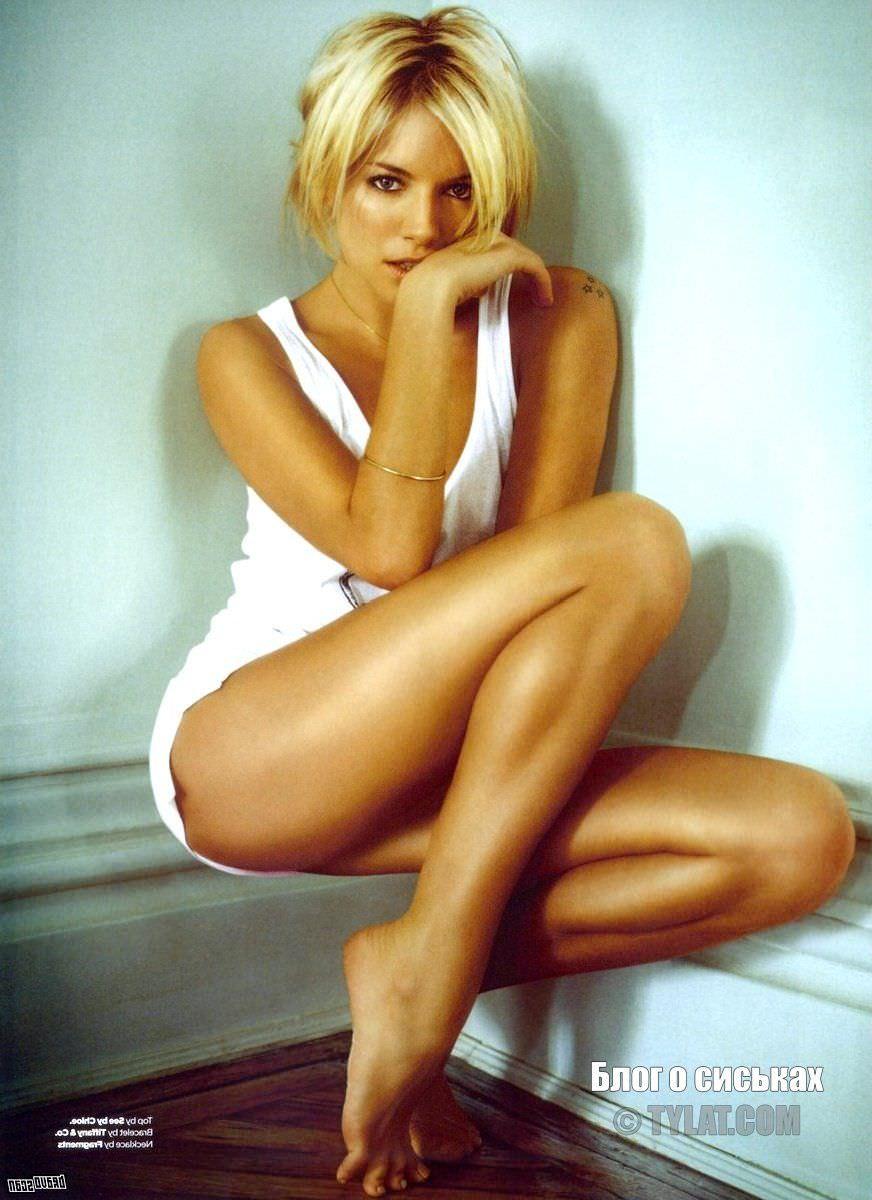 Сиенна Миллер фото стройных ног