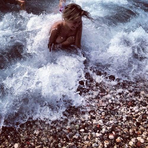 Ирина Старшенбаум фото в воде