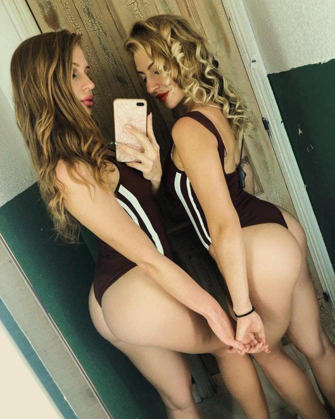 Полина Дубкова фото с подругой