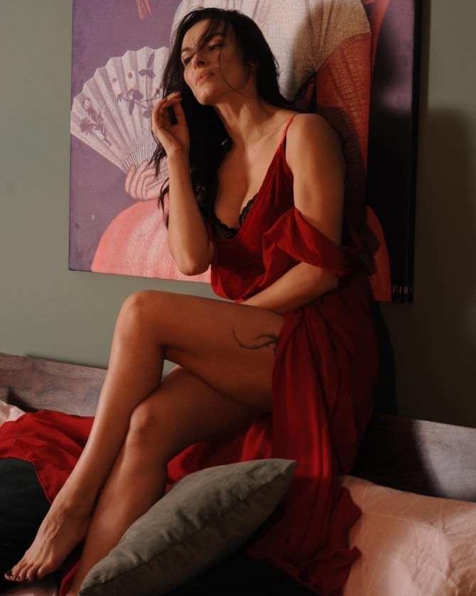 Надежда Грановская фотография в красном платье