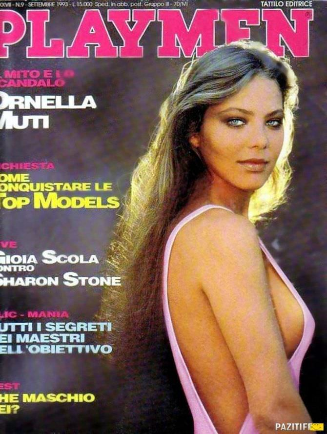 Орнелла Мути фото обложки мужского журнала