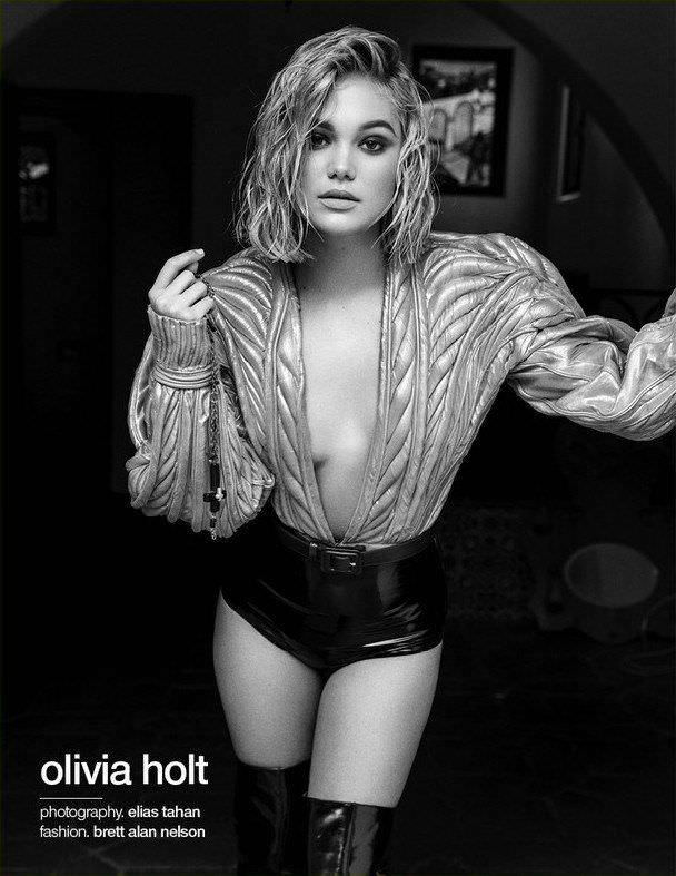 Оливия Холт фото для журнала