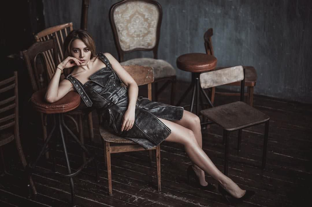 Анжелика Каширина на фотосессии