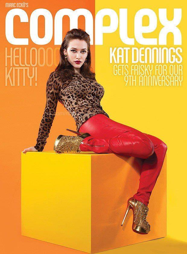 Кэт Деннингс фото на обложке журнала Complex
