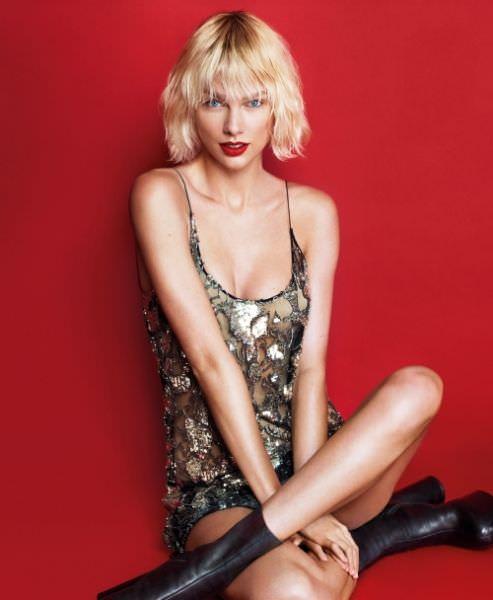 Тейлор Свифт фото для журнала Vogue