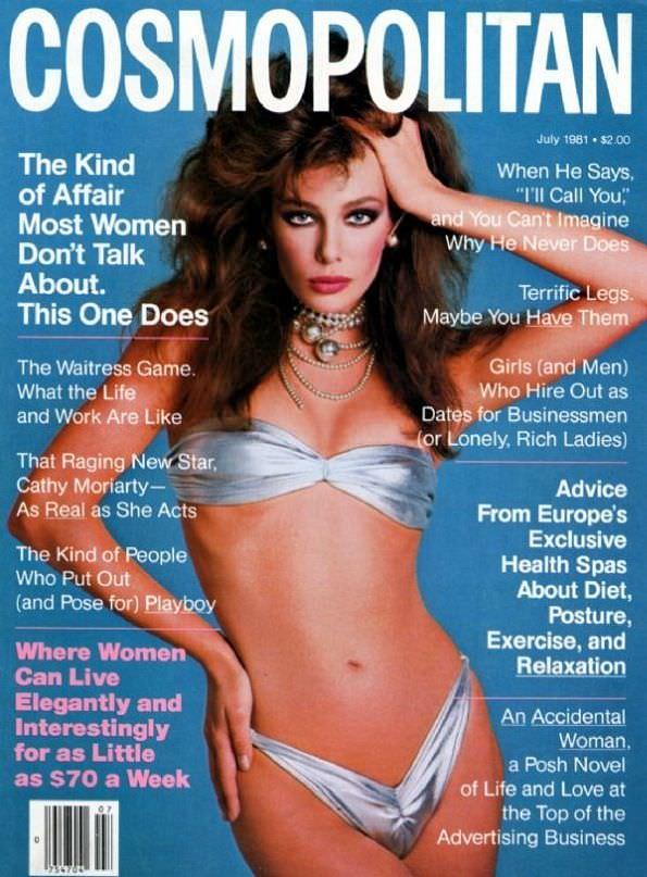 Келли Леброк фото на обложке журнала Cosmopolitan
