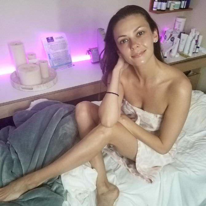 Ольга Фонда фото в полотенце