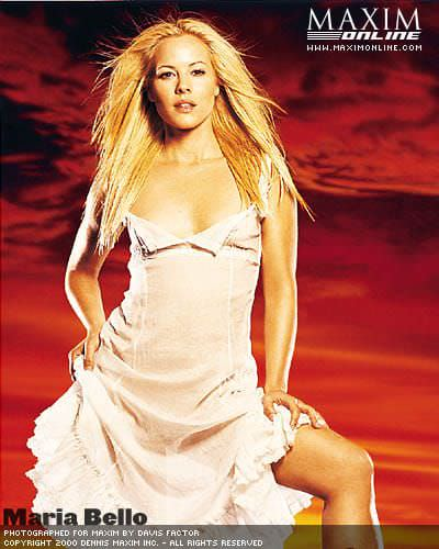 Мария Белло фото в платье