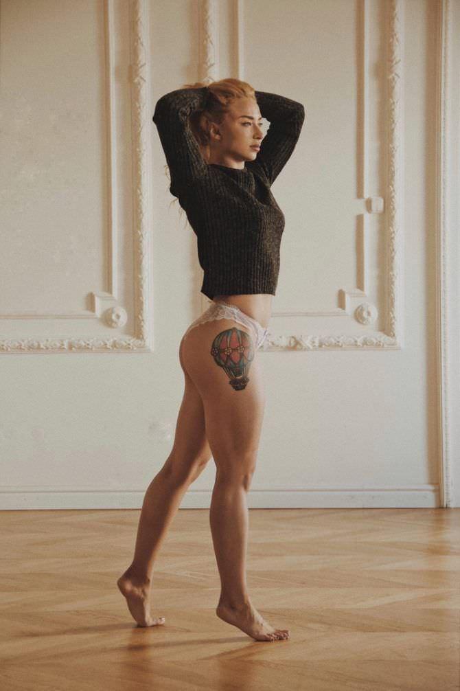 Мария Соколова на фотосъемке