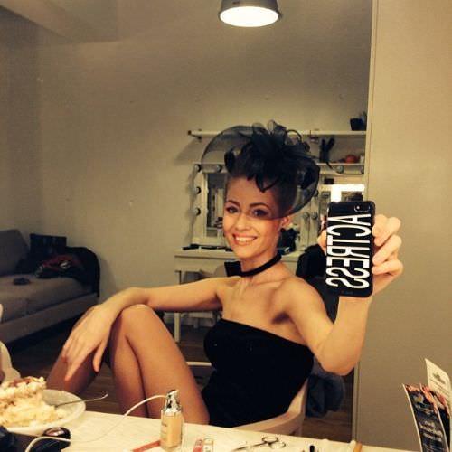 Татьяна Бабенкова фото в гримерке