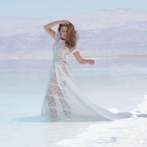 Жанна Бадоева фото в воде