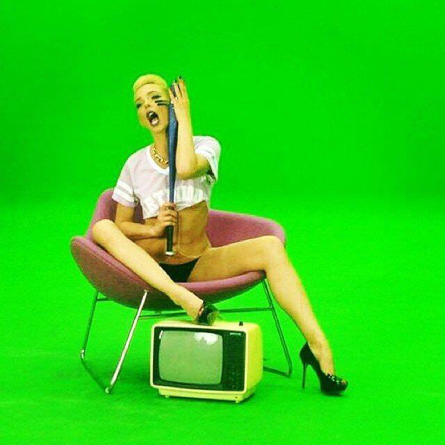 Светлана Степанковская фото со съемок клипа