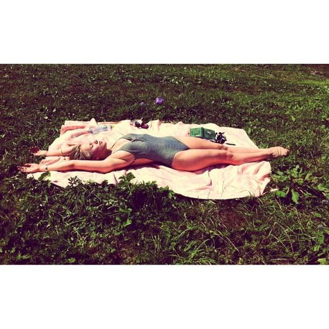 Виктория Клинкова фотография в купальнике в инстаграм