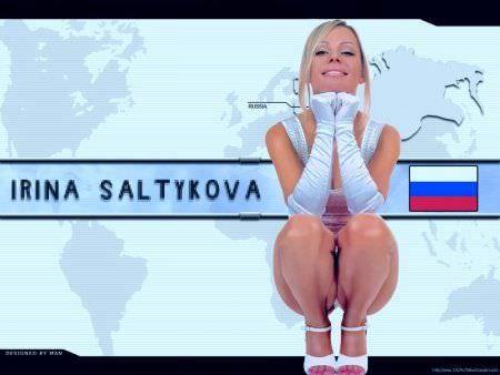Ирина Салтыкова фото в перчатках