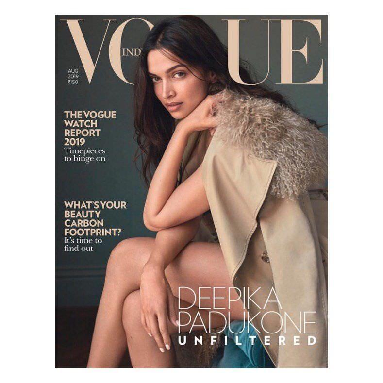 Дипика Падуконе в журнале Vogue