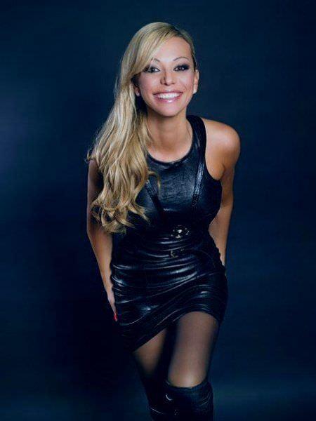 Ирина Салтыкова фото в платье